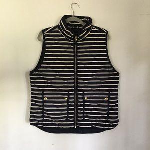 J.Crew Striped Vest